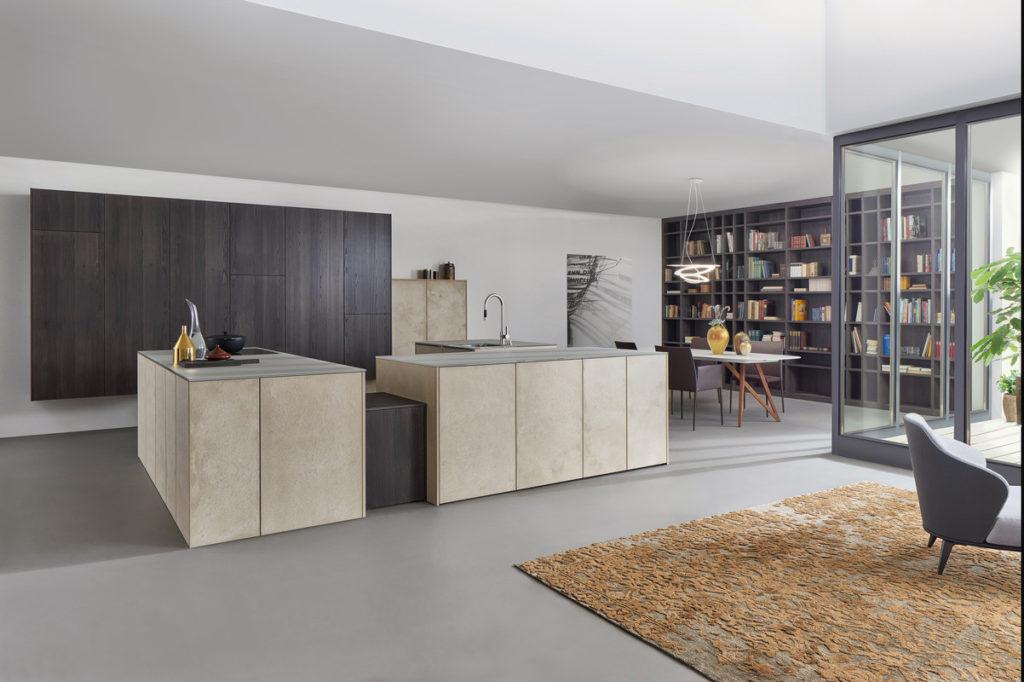 cuisine Leicht façade pierre, Wels Décoration Antibes