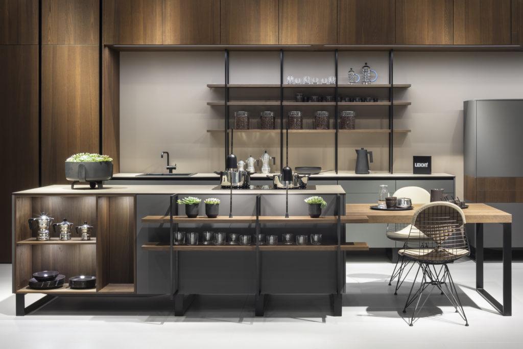 cuisine Leicht chez Wels Décoration Antibes style factory