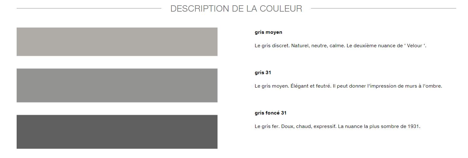 couleur Le Corbusier cuisine Leicht Antibes