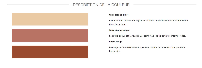 couleurs Le Corbusier cuisine Leicht Wels Décoration Antibes