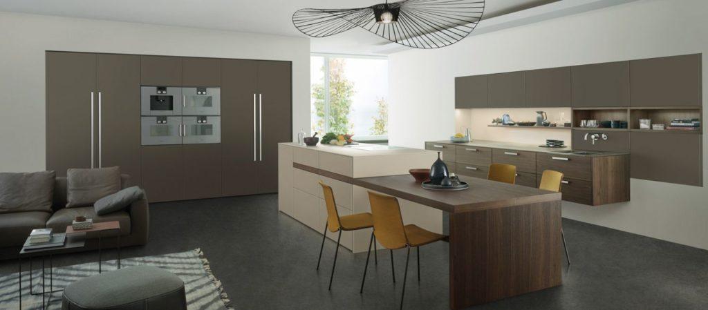 cuisine Leicht couleur Le Corbusier Wels Décoration Antibes