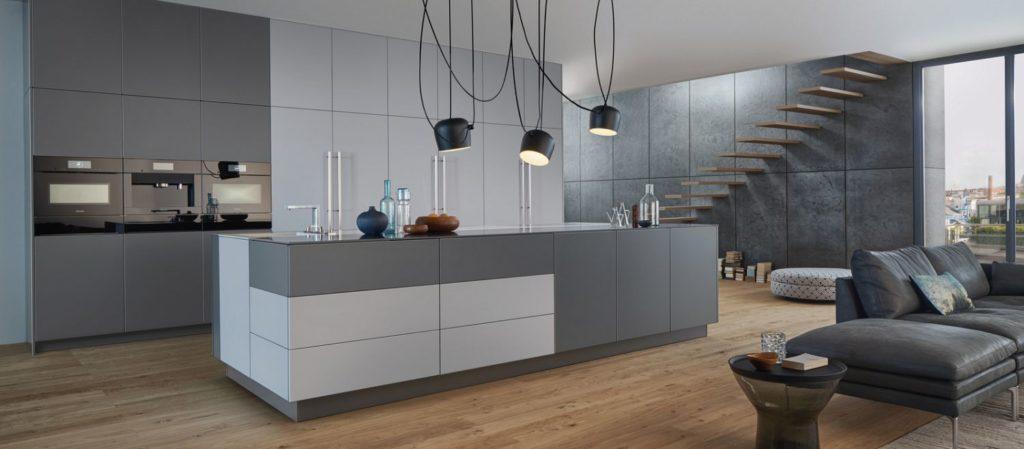 couleur Le Corbusier cuisine Leicht Wels Décoration Antibes