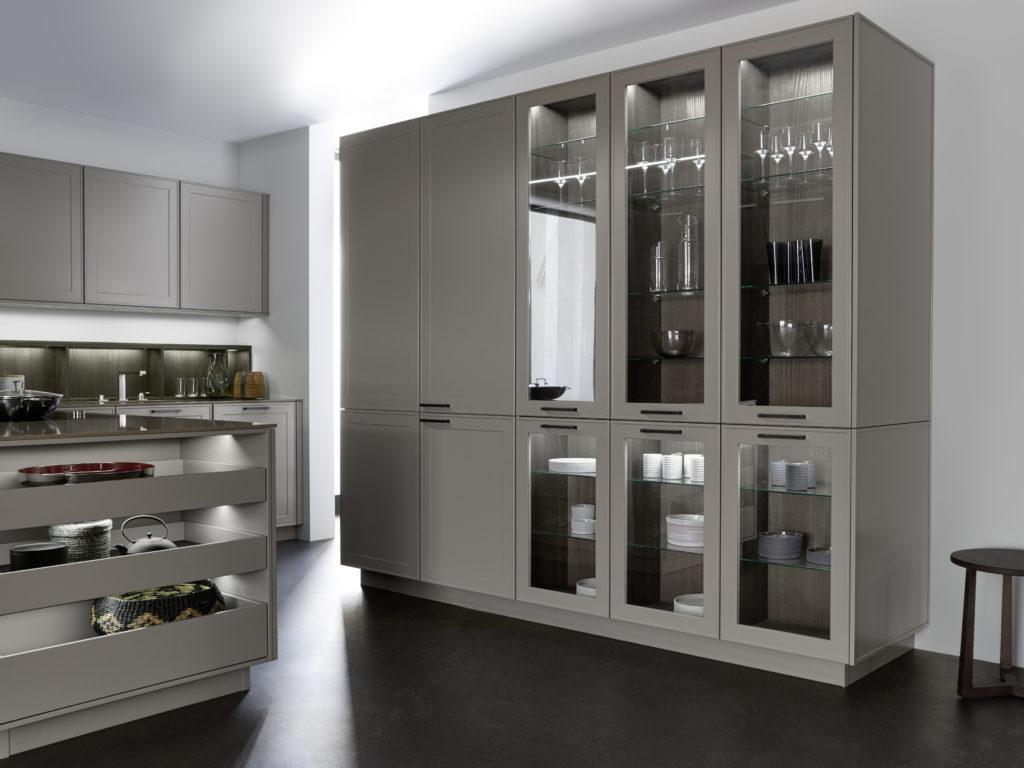 cuisine Leicht façade laque, Wels Décoration Antibes