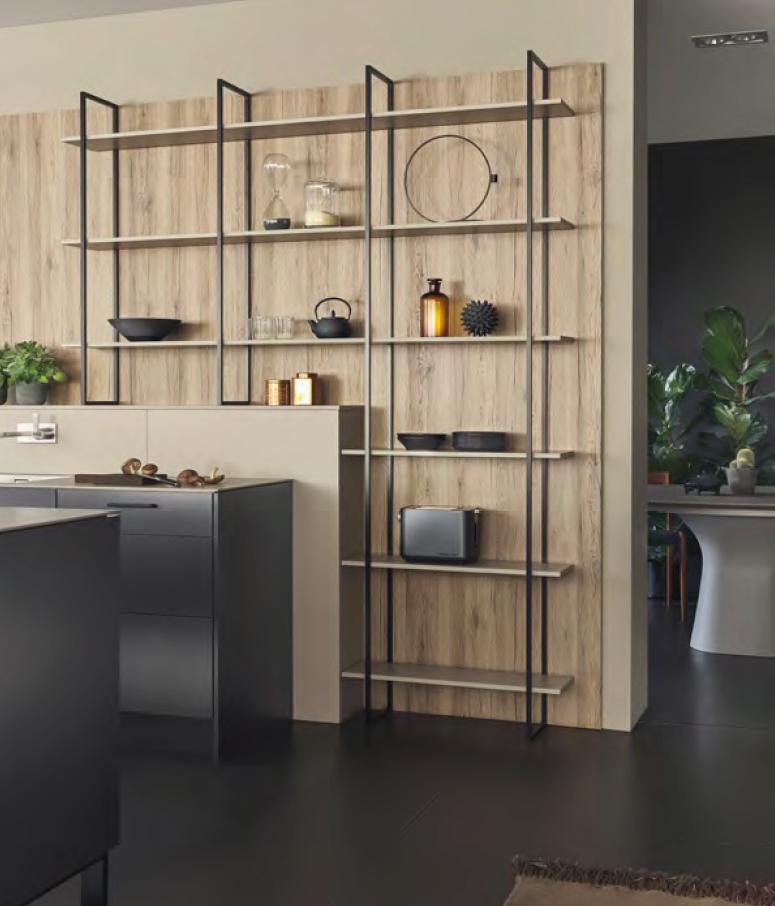 étagère Fios avec cuisine Leicht Metea nouveauté 2020 Wels Décoration Antibes
